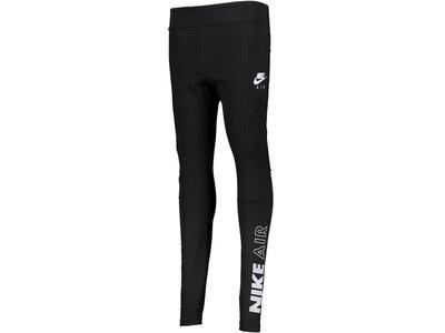 NIKE Lifestyle - Textilien - Hosen lang Air Leggings Damen Schwarz