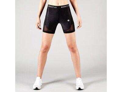 Kurze Sporthose ' Performance Mesh Shorts ' Schwarz