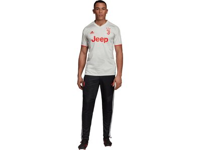"ADIDAS Herren Fußballtrikot ""19/20 Juventus Away Jersey"" Kurzarm - Replica Weiß"