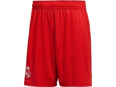 """ADIDAS Herren Fußballshorts """"Real Madrid 3RD Shorts"""" Rot"""