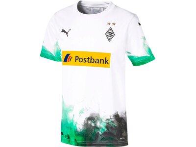 """PUMA Kinder Fußballtrikot """"Borussia Mönchengladbach Heimtrikot"""" Kurzarm - Replica Grün"""