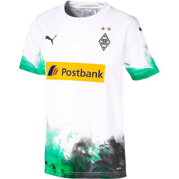 """PUMA Kinder Fußballtrikot """"Borussia Mönchengladbach Heimtrikot"""" Kurzarm - Replica"""