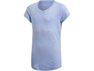 ADIDAS Kinder T-Shirt ID Winner Blau