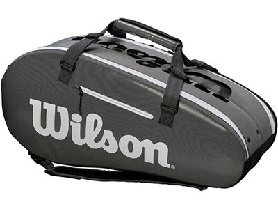 """WILSON Tennistasche """"Super Tour 2 Compartment - Large"""" Schwarz"""