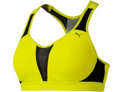 PUMA Damen Sport-BH Get Fast Gelb