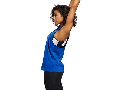 "ADIDAS Damen Top ""Tech Badge of Sports"" Blau"