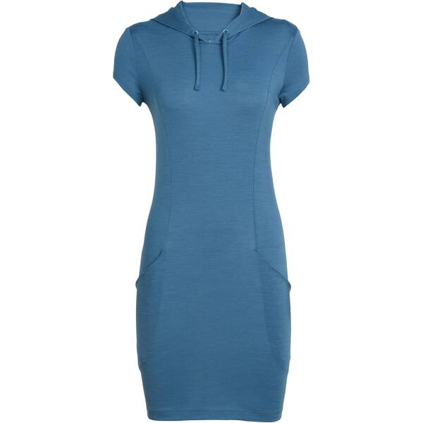 "ICEBREAKER Damen Outdoor-Kleid ""Womens Cool-Lite Yanni Hooded Dress Short Sleeve"""