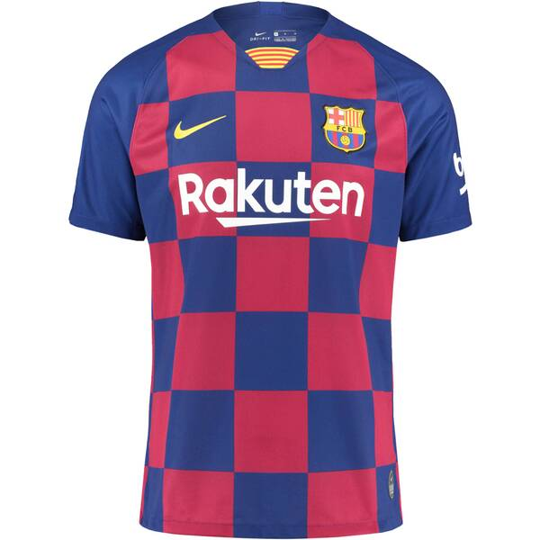 "NIKE Herren Trikot ""FC Barcelona 2019/20 Stadium Home"" Kurzarm - Replica"