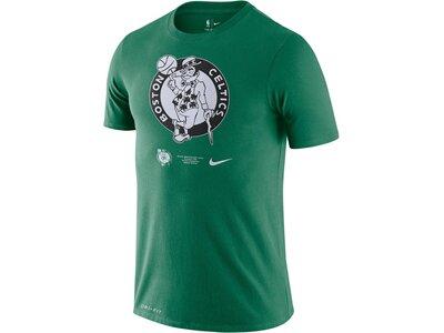 "NIKE Herren Basketball T-Shirt ""NBA Celtics Logo"" Grün"