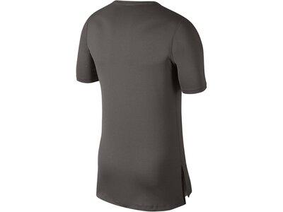 NIKE Herren Trainingsshirt Kurzarm Grün