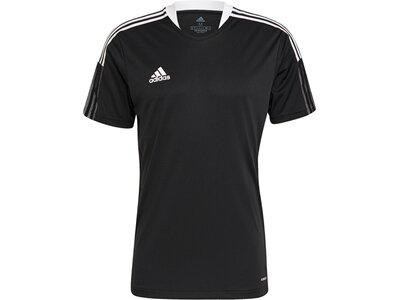 ADIDAS Fußball - Teamsport Textil - T-Shirts Tiro 21 Trainingsshirt Schwarz
