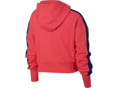 NIKE Mädchen Kapuzensweatshirt Rot