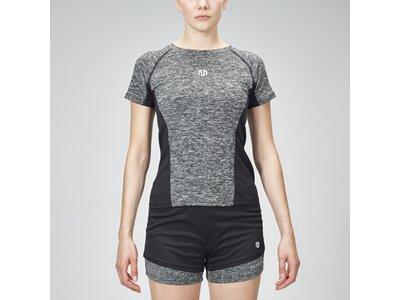 Sportshirt ' Performance Framed Mesh Shirt ' Grau