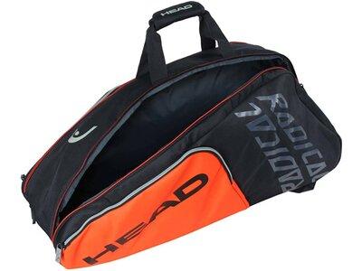 """HEAD Tennisschlägertasche """"Radical 9R Superkombi"""" Orange"""