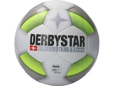 DERBYSTAR Equipment - Fußbälle Brillant TT DB+ Trainingsball Grau