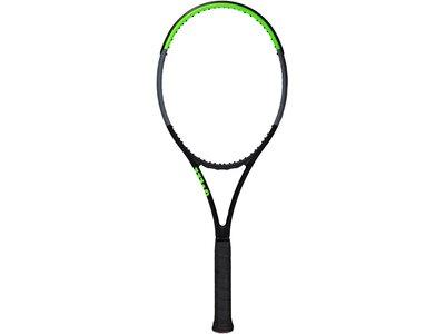 """WILSON Tennisschläger """"Blade 104 V7"""" unbesaitet Weiß"""
