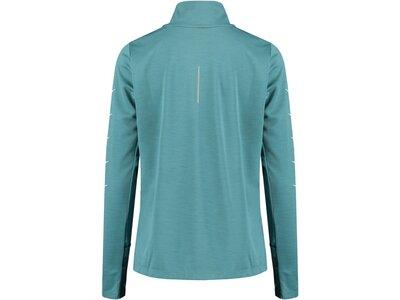 "NIKE Damen Running Sweatshirt ""WMNS Swoosh Run HZ Top"" Langarm Blau"