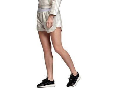 ADIDAS Damen Shorts Grau