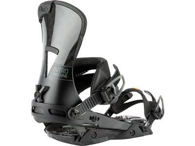 "NITRO Snowboardbindung ""Machine 21"" Grau"