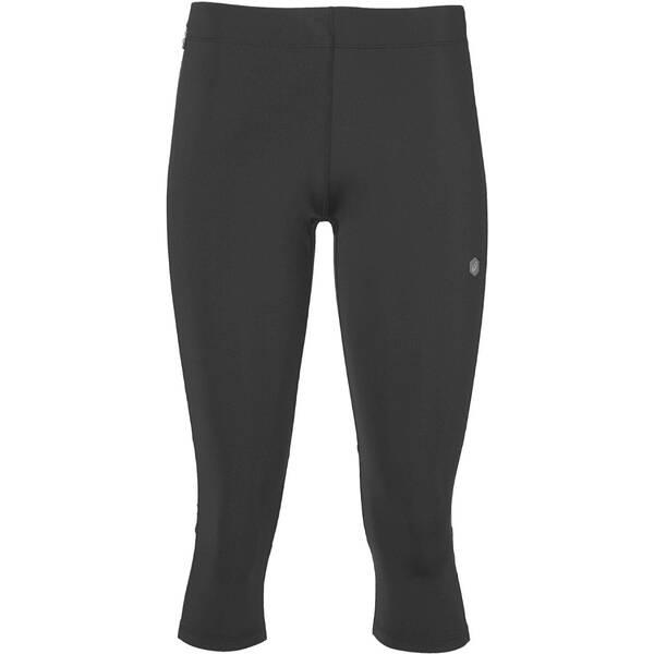 Hosen - ASICS Damen Lauftights Knee Tight 3 4 Länge › Grau  - Onlineshop Intersport