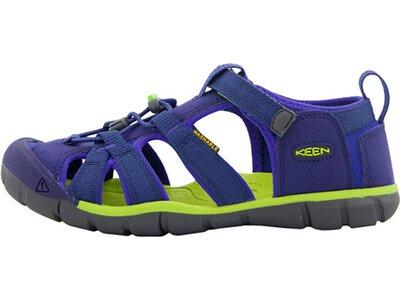 Kinder Trekkingsandale SEACAMP II CNX Y-BLUE DEPTHS/CHARTREUSE Blau