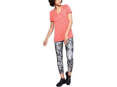 UNDERARMOUR Damen Fitness-Shirt Kurzarm Orange