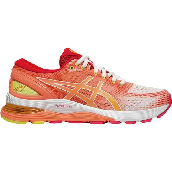 ASICS Damen Laufschuhe GEL-Nimbus 21 Shine