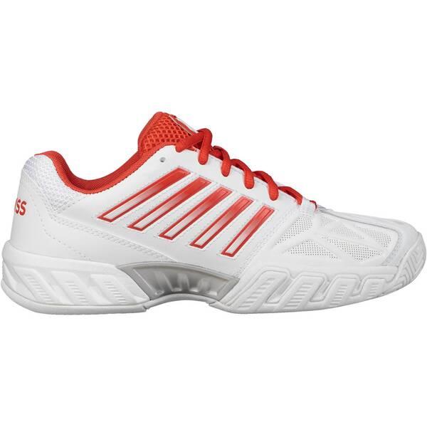 K-SWISS Damen Tennisschuhe Allcourt Bigshot Light 3 | Schuhe > Sportschuhe > Tennisschuhe | Weiß - Rot | K-SWISS TENNIS