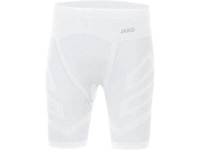 JAKO Herren Short Tight Comfort 2.0 Weiß
