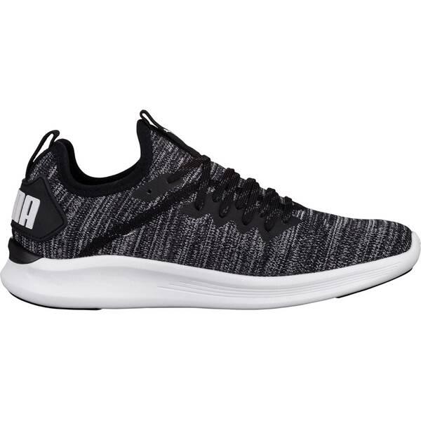 PUMA Damen Fitnessschuhe Ignite Flash evoKnit | Schuhe > Sportschuhe > Fitnessschuhe | Black - Pink | Puma