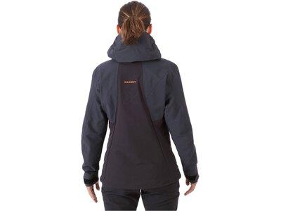 """MAMMUT Damen Jacke """"Eisfeld Guide SO Hooded Jacket Women"""" Schwarz"""
