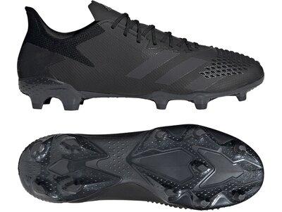 ADIDAS Fußball - Schuhe - Nocken Predator Uniforia 20.2 FG Schwarz