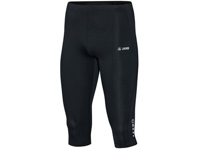 JAKO Herren Capri Tight Run Schwarz
