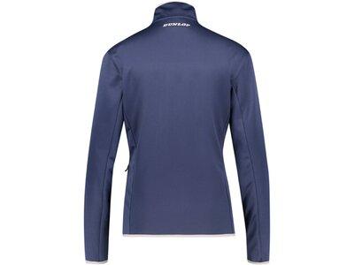 "DUNLOP Damen Tennisjacke ""Knitted Jacket"" Blau"
