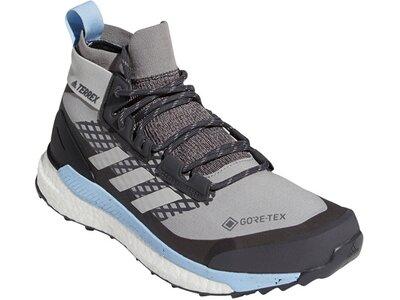 adidas Damen TERREX Free Hiker GORE-TEX Wanderschuh Silber