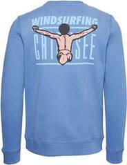 CHIEMSEE Sweatshirt mit großem CHIEMSEE Jumper Print am Rücken