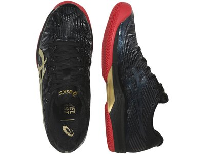 "ASICS Damen Tennisschuhe Sandplatz ""Solution Speed FF L.E. Clay"" Schwarz"