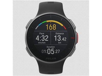 """POLAR GPS-Multisportuhr """"Vantage V HR"""" Schwarz"""
