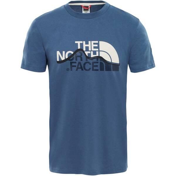 THE NORTH FACE Herren T-Shirt Mountain Line
