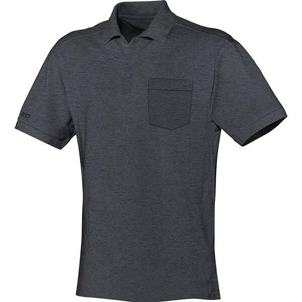 JAKO Herren Polo Team mit Brusttasche