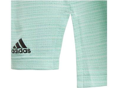 ADIDAS Kinder Trainingsshirt Climachill Tee Grau