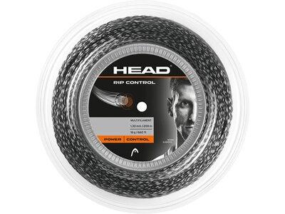 """HEAD Tennissaite """"Rip Control Rolle 200m"""" Schwarz"""