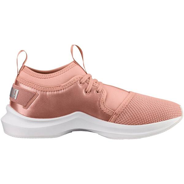 Sportschuhe - PUMA Damen Fitnessschuhe Phenom Low Satin En Pointe › Pink  - Onlineshop Intersport