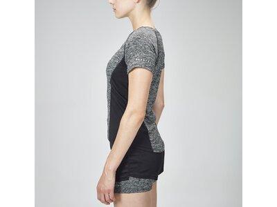 Sportshirt Performance Framed Mesh Shirt Grau