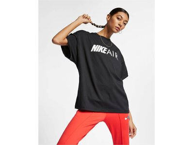 "NIKE Damen Trainingsshirt ""Air"" Kurzarm Schwarz"
