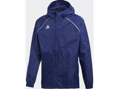 ADIDAS Fußball - Teamsport Textil - Allwetterjacken Core 18 Rain Jacket Jacke Kids Dunkel Blau