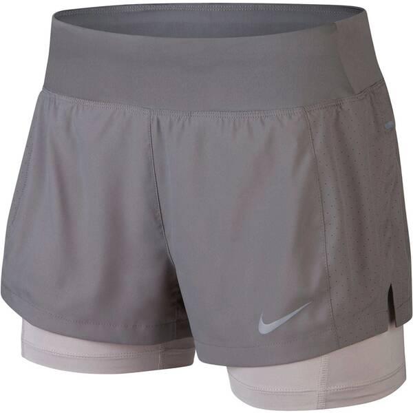 NIKE Damen Laufshorts Eclipse 2-in-1 Shorts