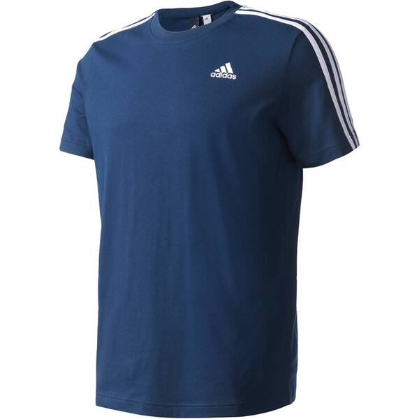 ADIDAS Herren Trainingsshirt Essentials 3 Stripes Tee