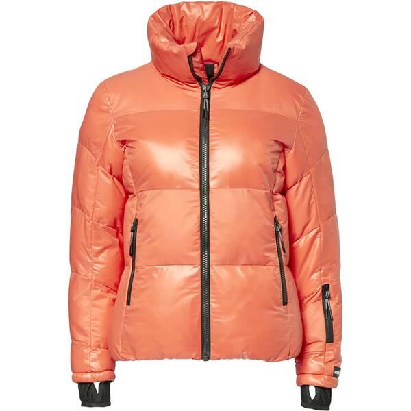 CHIEMSEE Skijacke Materialmix in Glanz-/Mattoptik | Sportbekleidung > Sportjacken > Skijacken | Coral | Jeans | CHIEMSEE
