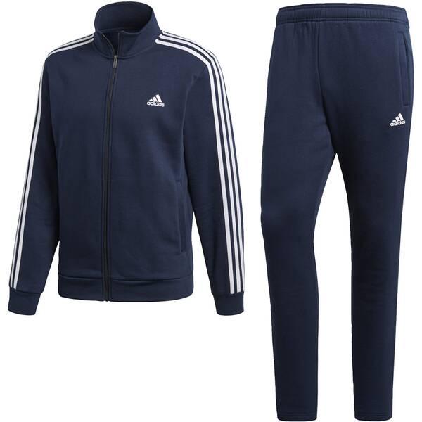 ADIDAS Herren Relax Trainingsanzug | Sportbekleidung > Sportanzüge > Trainingsanzüge | White | ADIDAS